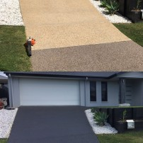 Driveway - Before & After