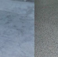 Garage Floor - Before & After