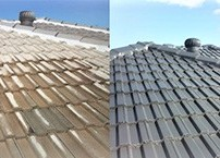 Roof Restoration - Before & After